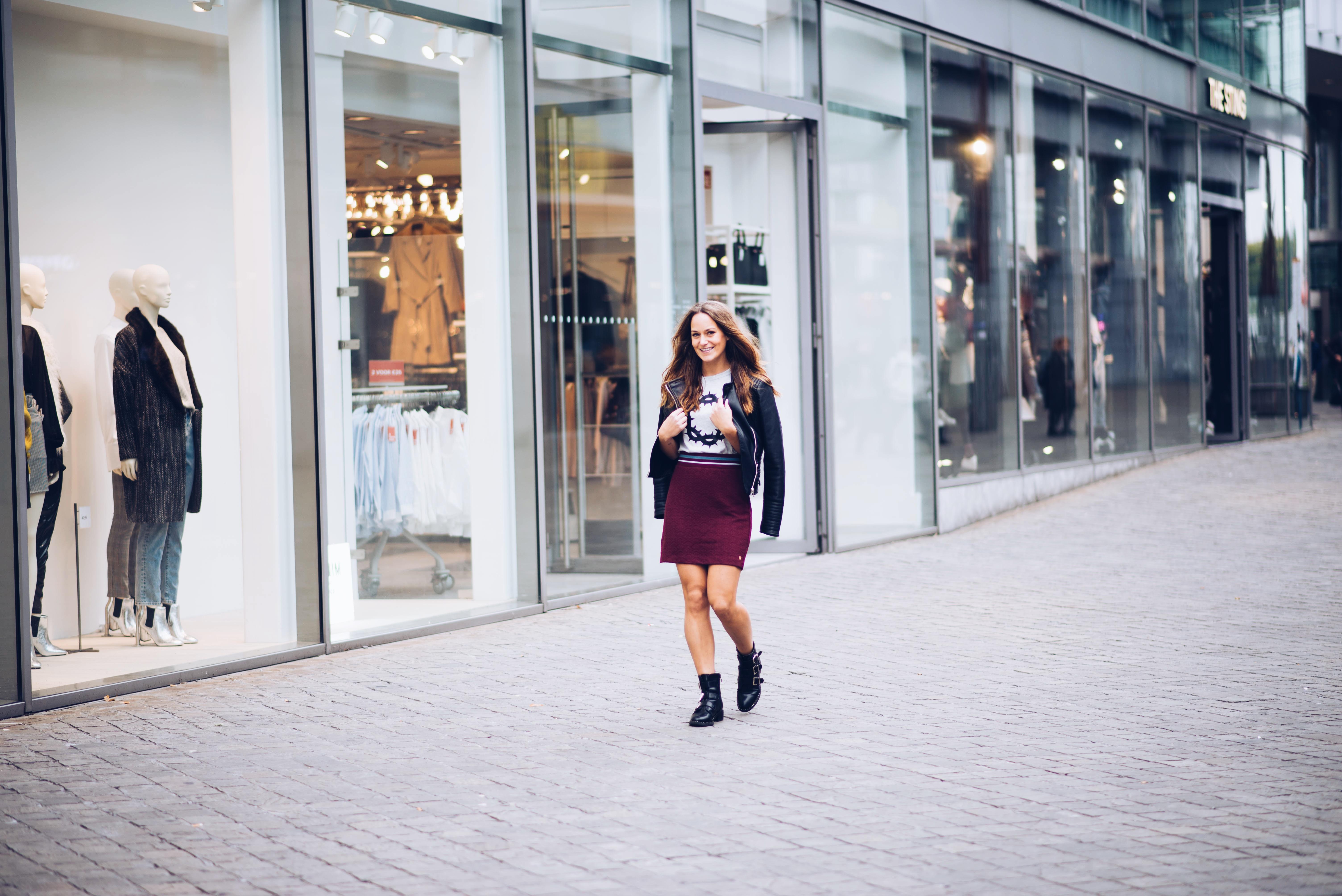 gsus, outfit, wiw, ootd, wiwt, fashion, fashionista, look, autumn, dress, jurk, rok, rokje, jurkje, bomberjack, hoed, girl, me, happy