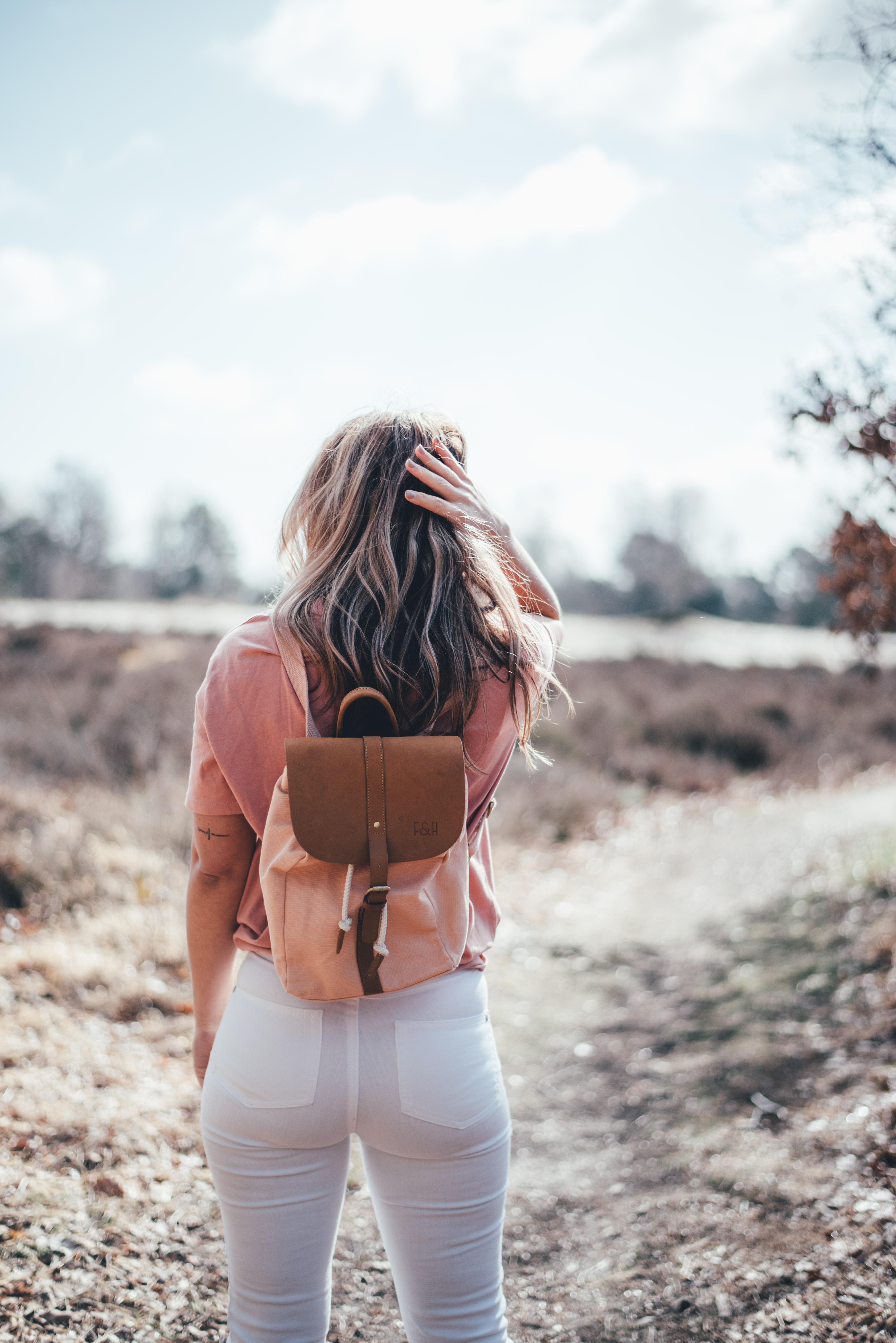 fitz and huxley, backpack, rugzak, rugtas, roze, cognac, ootd, bag, tas, influencer, xmariekie, social media, blog, blogger