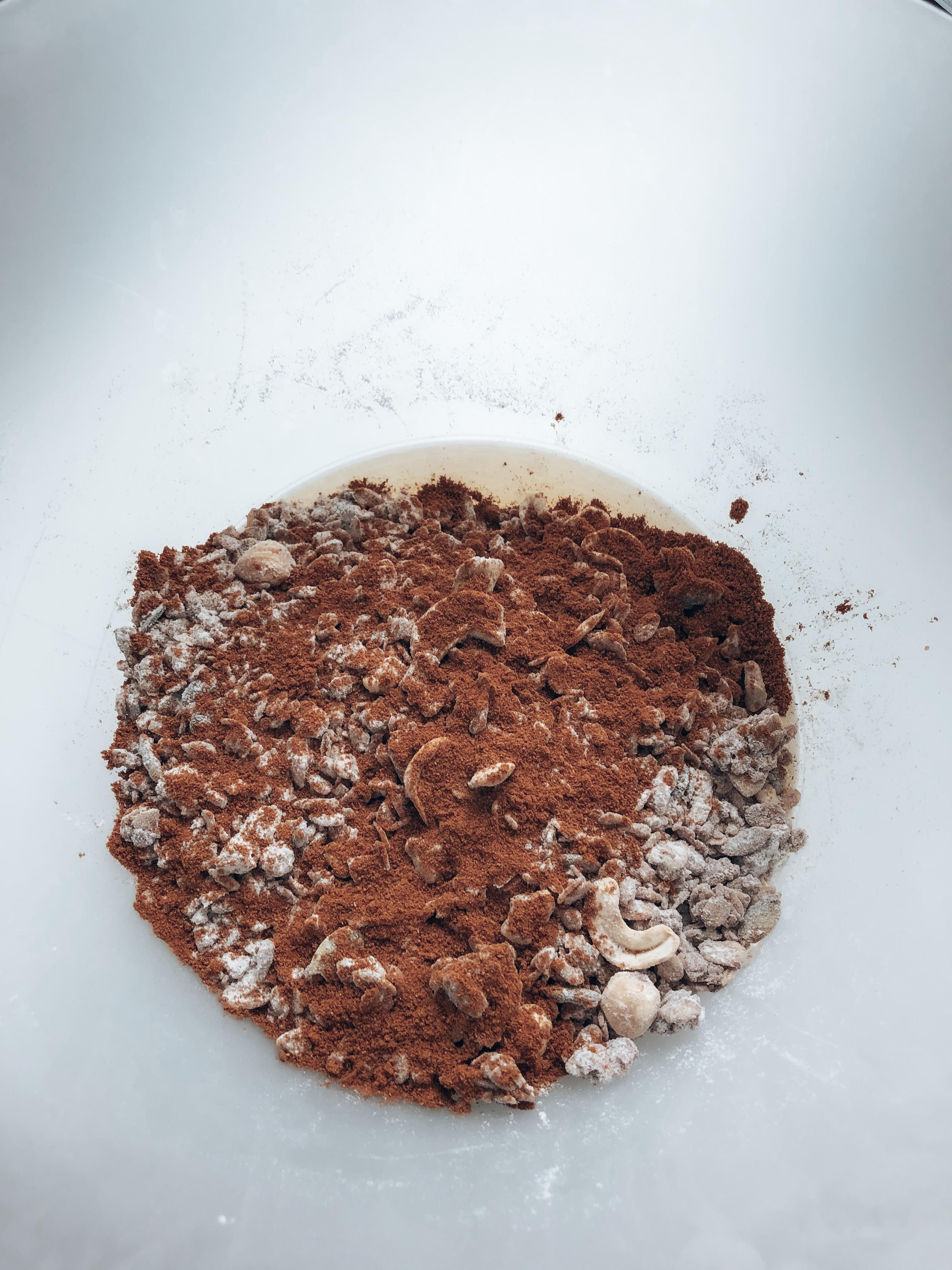 oot, granola, muesli, repen. ontbijt, ontbijtrepen. recept, gezond, healthy, snel, bosbes, mueslireep