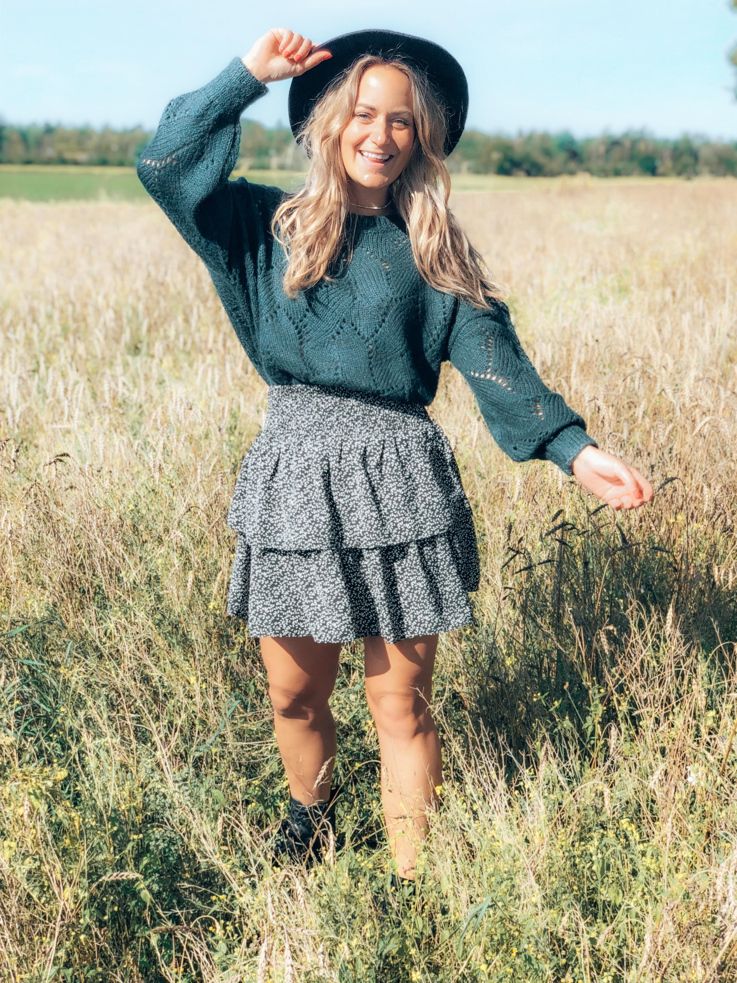 trui, knit, knitwear, sweater, rok, rokje, najaar, winter, outfit, roxz, roxz fashion, fashion, xmariekie