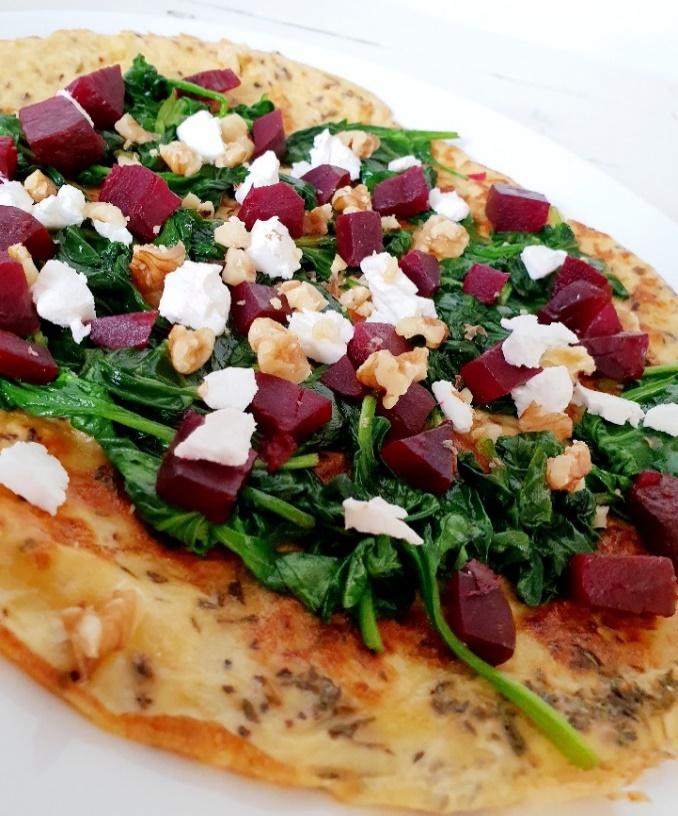 wrap, lunch, geitenkaas, biet, spinazie, gezond, gezonde lunch, ei, omelet, xmariekie