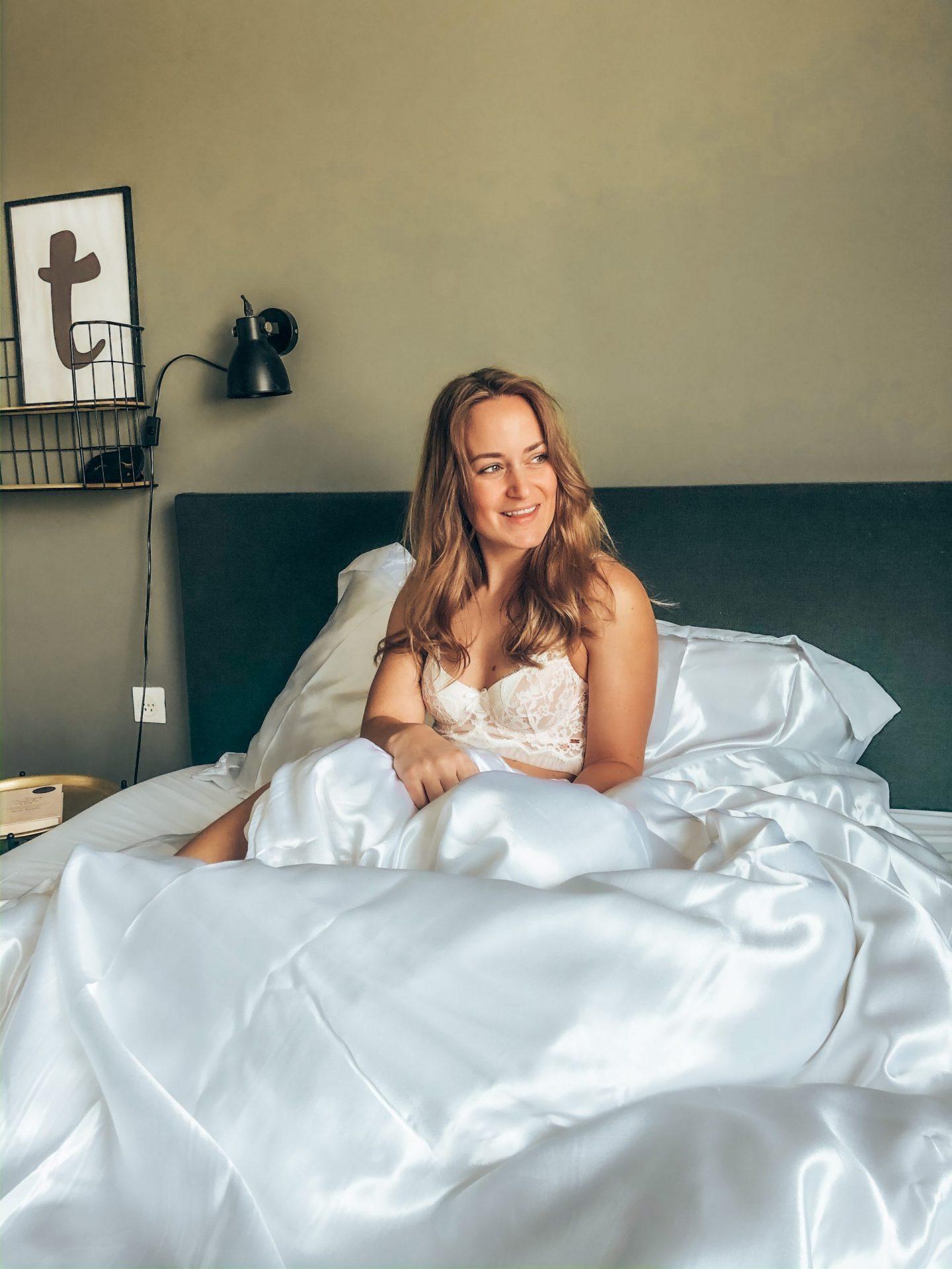 bed, slaapkamer, interieur, beddengoed, dekbed, dekbedovertrek, ynot, y-not, xmariekie, blogger