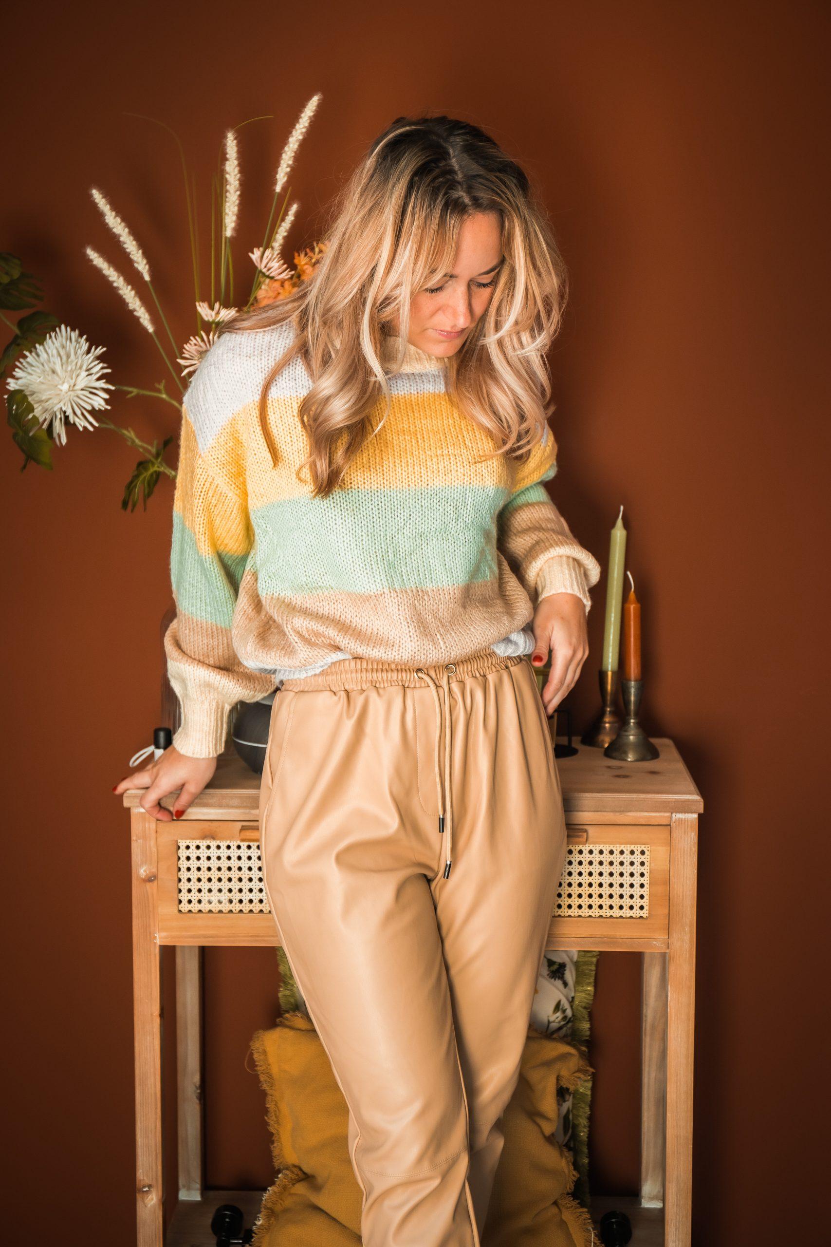 guts & gusto, beige, najaar, herfst, outfit, gutsgusto, leatherlook, leer, interieur, thuis
